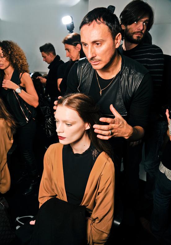 Gucci Milan Fashion Week backstage 2