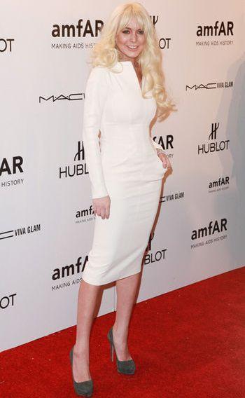 Lindsay Lohan (Tom Ford)