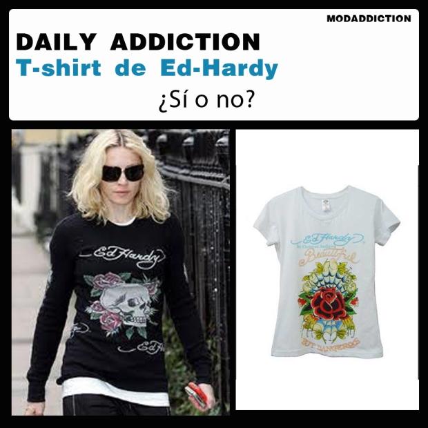 daily addiction- ed hardy - modaddiction - madonna