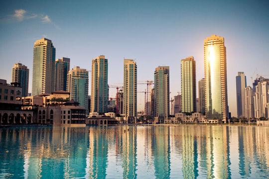 Dubai ville