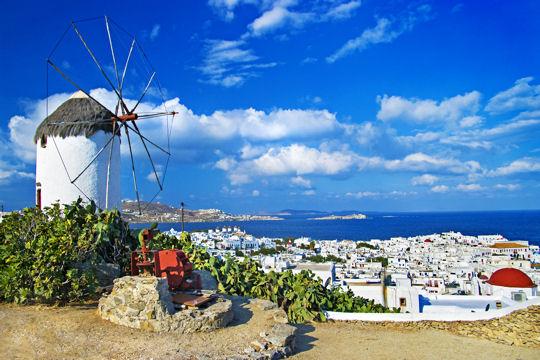 sunny beautiful Mykonos - amazing greek islands series