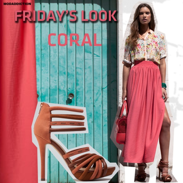 fridays-look-bershka-color-coral-verano-2012-modaddiction