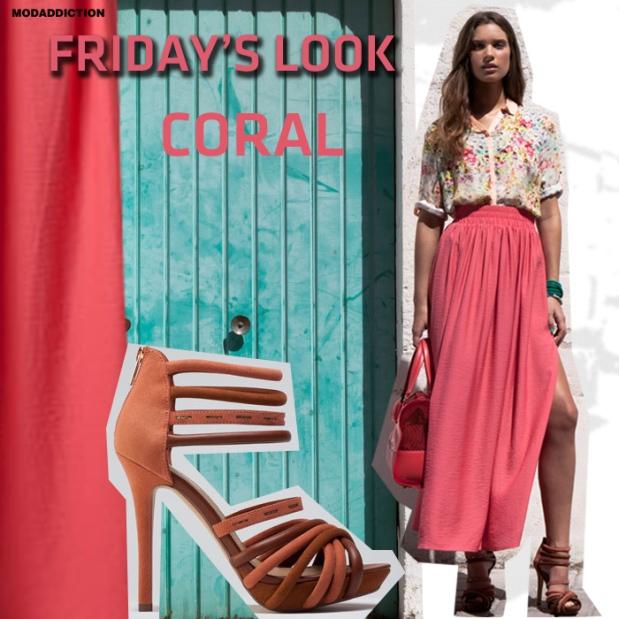 fridays-look-bershka-color-coral-verano-2012-modaddiction