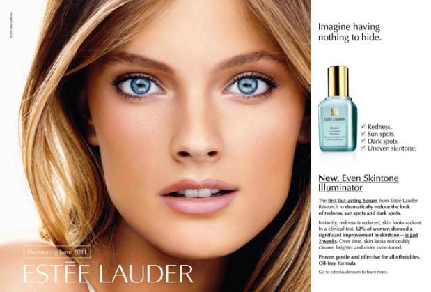 10-mejores-modelos-top-models-Constance-Jablonski -modaddiction-moda-fashion-estée-lauder