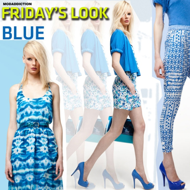 friday's-look-bershka-trend-blue-tendencia-azul-fashion-moda-modaddiction