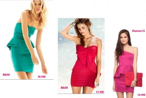 looks-peplum-hm-h-m-forever-21-modaddiction-moda-fashion-tendencia-trend-estilo