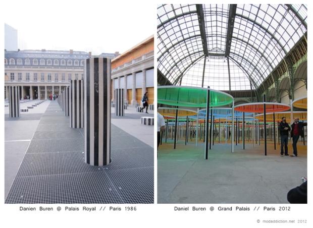 paris-saturday-sabado-modaddiction-moda-fashion-trends-tendencias-cultura-culture-palais-royal-grand-palais-daniel-buren