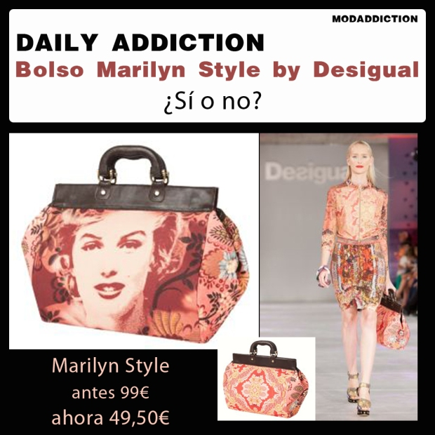 daily-addiction-marilyn-monroe-style-desigual-fashion-bolso-bag-trendy-modaddiction