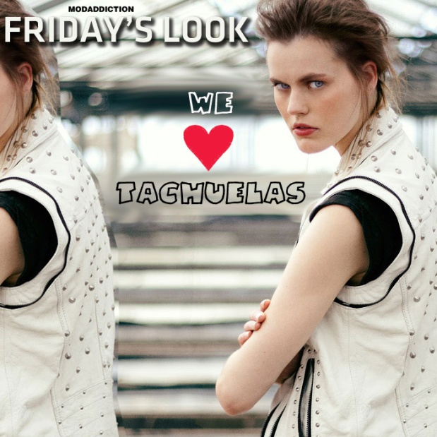 fridays_look_bershka_collection_autumm_winter_otono_invierno_2012_tachuelas_tachas_chaleco_modaddiction
