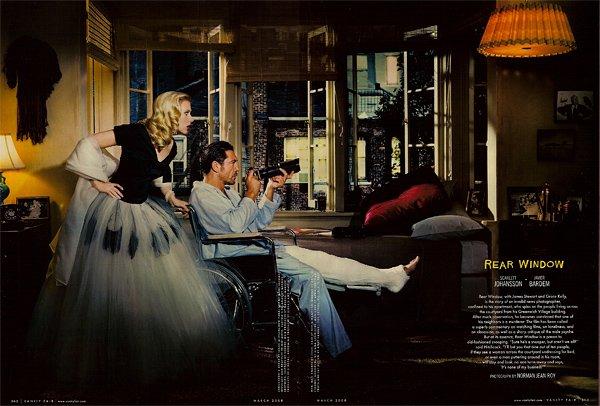 Hitchcock-hollywood-homage-homenaje-vanity-faire-modaddiction-moda-fashion-cine-cinema-culture-cultura-estrellas-famosos-la-ventana-indiscreta-scarlett-johansson-javier-bardem