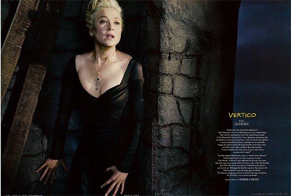 Hitchcock-hollywood-homage-homenaje-vanity-faire-modaddiction-moda-fashion-cine-cinema-culture-cultura-estrellas-famosos-vértigo-Renée-Zellweger
