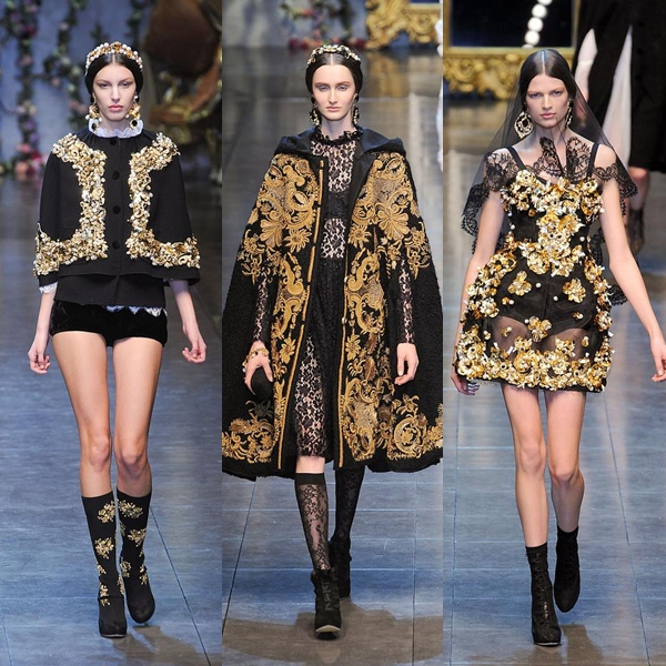 look-gold-etilo-dorado-oro-modaddiction-trend-tendencia-otono-invierno-2012-2013-autumn-winter-2012-2013-moda-fashion-dolce-&-gabbana