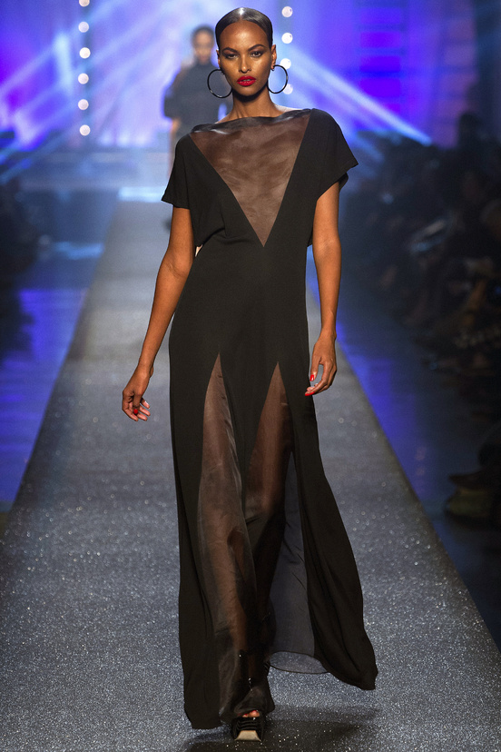 Jean-Paul-Gaultier-paris-fashion-week-modaddiction-spring-summer-2013-primavera-verano-2013-moda-fashion-trends-tendencias-looks-1980-estilo-1980-sade