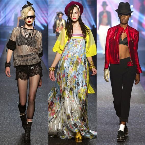Jean-Paul-Gaultier-paris-fashion-week-modaddiction-spring-summer-2013-primavera-verano-2013-moda-fashion-trends-tendencias-looks-1980-estilo-1980