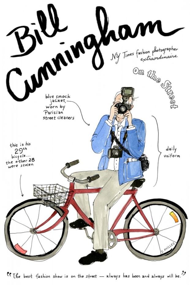 joana-avillez-mas-influyentes-most-influyent-modaddiction-moda-fashion-arte-art-ilustradora-illustrations-ilustraciones-trends-tendencias-bill-cunningham