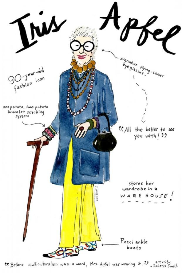 joana-avillez-mas-influyentes-most-influyent-modaddiction-moda-fashion-arte-art-ilustradora-illustrations-ilustraciones-trends-tendencias-iris-apfel