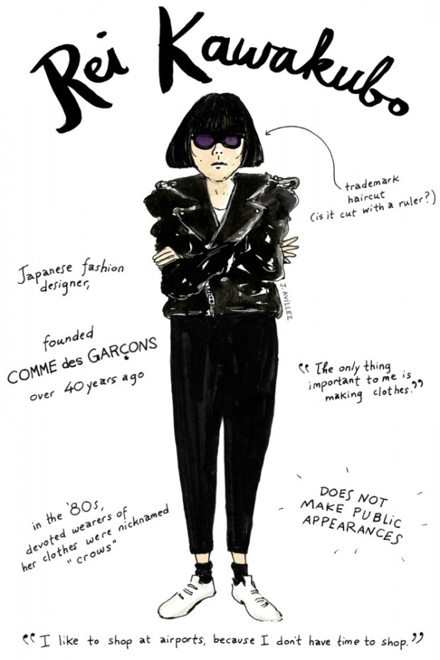 joana-avillez-mas-influyentes-most-influyent-modaddiction-moda-fashion-arte-art-ilustradora-illustrations-ilustraciones-trends-tendencias-Rei-Kawakubo