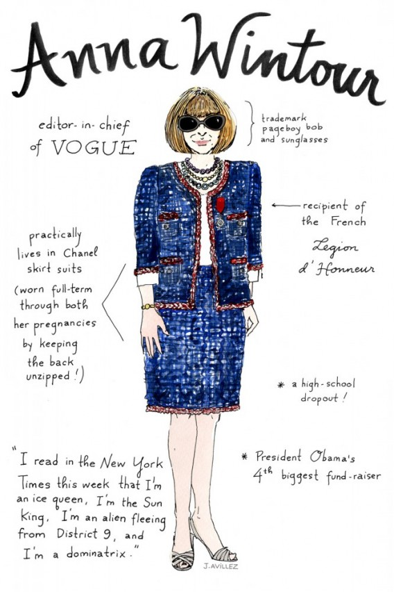 El 'Top Fashion Editors' by Joana Avillez