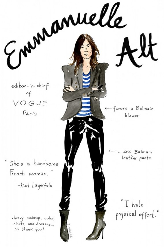 Joana-Avillez-top-fashion-editors-illustrations-modaddiction-ilustraciones-redactores-moda-fashion-trends-tendencias-emmanuelle-alt-vogue-paris