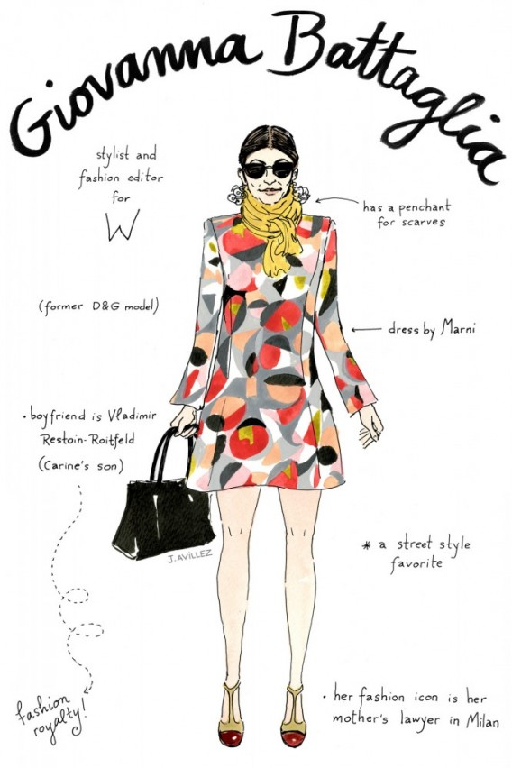 Joana-Avillez-top-fashion-editors-illustrations-modaddiction-ilustraciones-redactores-moda-fashion-trends-tendencias-giovanna-battaglia-w-magazine