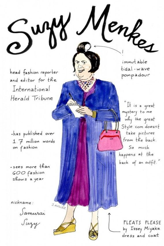 Joana-Avillez-top-fashion-editors-illustrations-modaddiction-ilustraciones-redactores-moda-fashion-trends-tendencias-suzy-menkes-international-herald-tribune