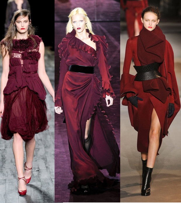 burdeos-it-color-fashion-week-semana-moda-modaddiction-otono-invierno-2012-2013-autumn-winter-trends-tendencias-burdeos-nina-ricci-gucci-haider-ackermann-bordeaux