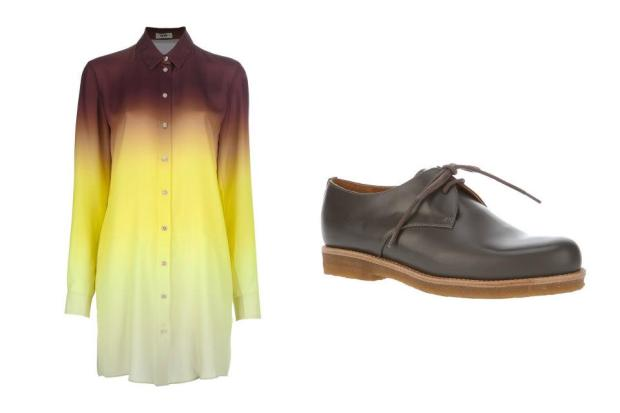 combinacion-blusa-zapatos-shirt-shoes-modaddiction-moda-fashion-mujer-trends-tendencias-farfetch.com-acne-veronique-branquinho