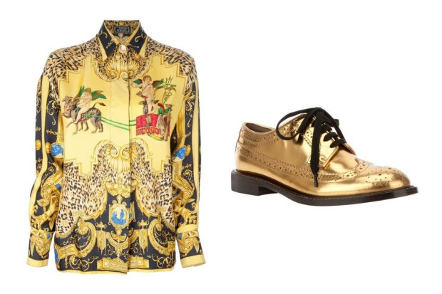 combinacion-blusa-zapatos-shirt-shoes-modaddiction-moda-fashion-mujer-trends-tendencias-farfetch.com-gianni-versace-marni