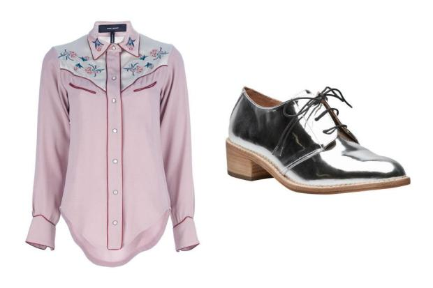 combinacion-blusa-zapatos-shirt-shoes-modaddiction-moda-fashion-mujer-trends-tendencias-farfetch.com-isabel-marant-loeffler-randall