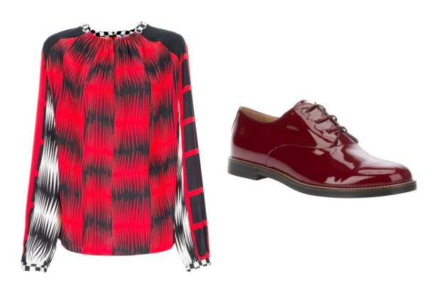 combinacion-blusa-zapatos-shirt-shoes-modaddiction-moda-fashion-mujer-trends-tendencias-farfetch.com-msgm-mm6-martin-margiela
