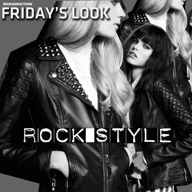 fridays-look-rock-style-black-dress-pull-bear-collection-atumn-winter-invierno-2012-fashion-modaddiction