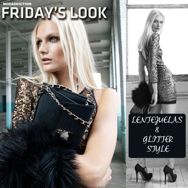 fridays_look_glitter_lentejuelas_trends_fashion_moda_dress_vestido_glamour_modaddiction