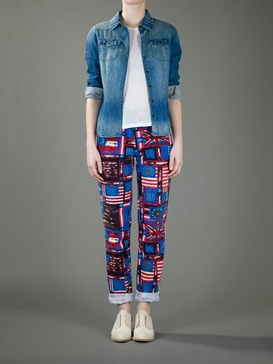 moda-fashion-vintage-lujo-retro-luxe-modaddiction-farfetch-web-shop-online-trends-tendencias-estilo-look-gianni-versace-vintage-pantalones-estampado-print-pants