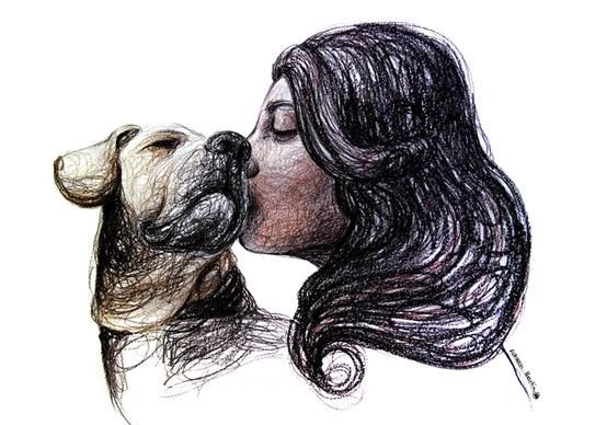 rebeca_martin_ilustraciones_femeninas_mascotas_madrid_cultura_diseno_design_modaddiction