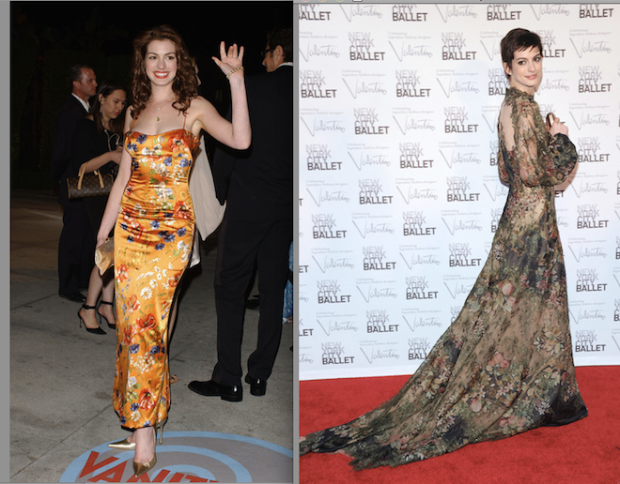 estilo-antes-despues-look-before-after-modaddiction-moda-fashion-people-celebs-estrellas-stars-red-carpet-alfombra-roja-trends-tendencias-chic-glamour-feo-anne-hathaway