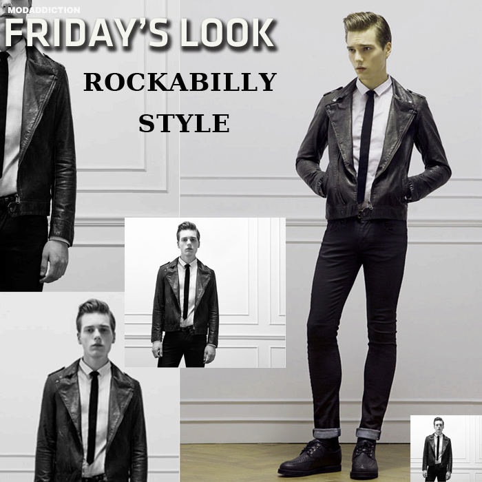 Friday S Look Rockabilly Style For Him By Bershka