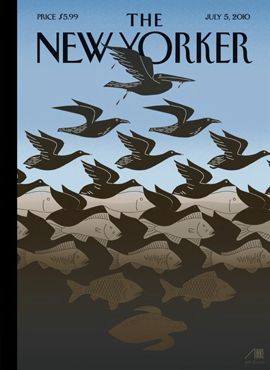 mejores-portadas-the-new-yorker-covers-best-modaddiction-ilustracion-illustration-arte-art-culture-cultura-trends-tendencias-moda-fashion-2010-marea-negra-golfo-méxico