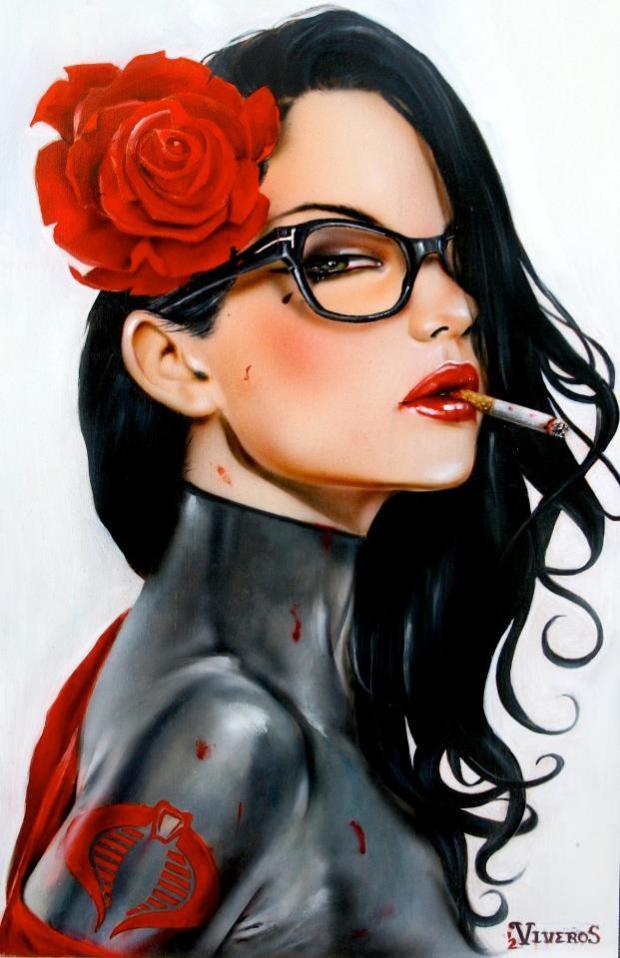 viveros-artista-mujer-cigarro-artist-women-cigarretes-brian-viveros-culture-cultura-painting-modaddiction-12