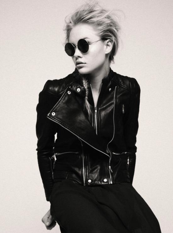 color-black-negro-trendy-fashion-leather-cuero-looks-street-style-modaddiction