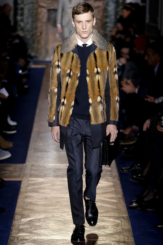 fashion-week-men-man-semana-moda-menswear-hombre-paris-modaddiction-otono-invierno-2013-2014-fall-winter-moda-fashion-trends-tendencias-desfile-catwalk-piel-valentino