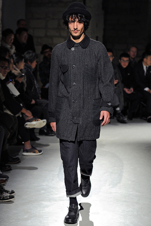 fashion-week-men-man-semana-moda-menswear-hombre-paris-modaddiction-otono-invierno-2013-2014-fall-winter-moda-fashion-trends-tendencias-desfile-catwalk-sombrero-hat-junya-wanatabe