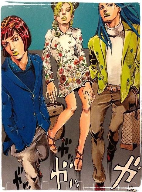 Gucci-Hirohiko-Araki-Jolyne-fly-high-with-Gucci-manga-comic-japon-japan-modaddiction-trends-tendencias-moda-fashion-arte-art-ilustracion-illustration-culture-cultura-1