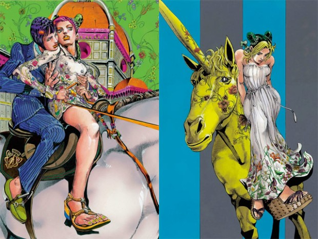 Gucci-Hirohiko-Araki-Jolyne-fly-high-with-Gucci-manga-comic-japon-japan-modaddiction-trends-tendencias-moda-fashion-arte-art-ilustracion-illustration-culture-cultura-2