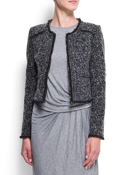 rebajas-mango-sale-otono-invierno-2012-2013-fall-winter-2012-2013-modaddiction-vestidos-ropa-clothes-moda-fashion-trends-tendencias-autumn-winter-chaqueta-bouclé