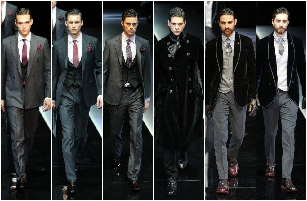 Resultado de imagen de Giorgio Armani mejores diseños de hombres trajes