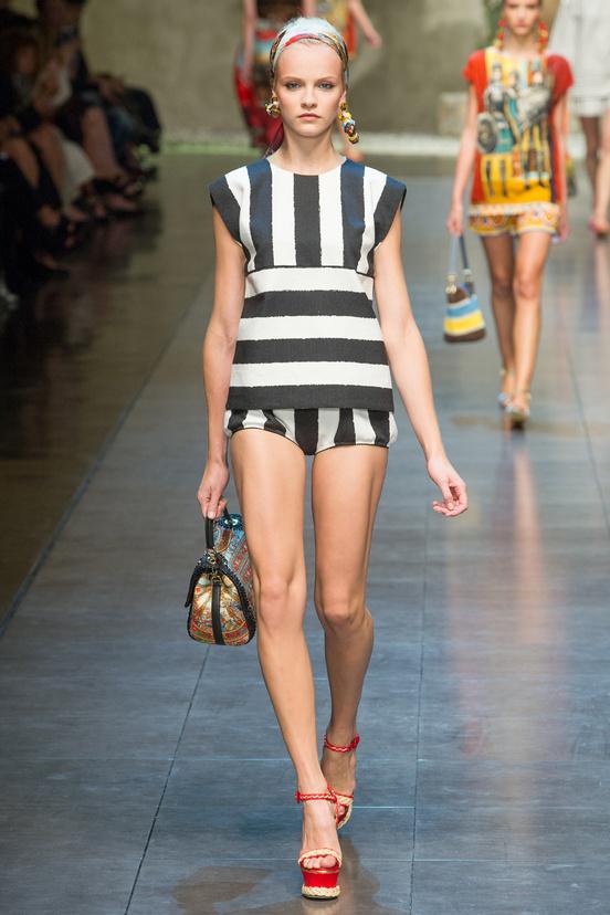 tendencia-rayas-trends-stripes-color-modaddiction-fashion-week-desfile-pasarela-runway-catwalk-brands-low-cost-marcas-moda-fashion-primavera-verano-2013-spring-summer-2013-dolce-&-gabbana