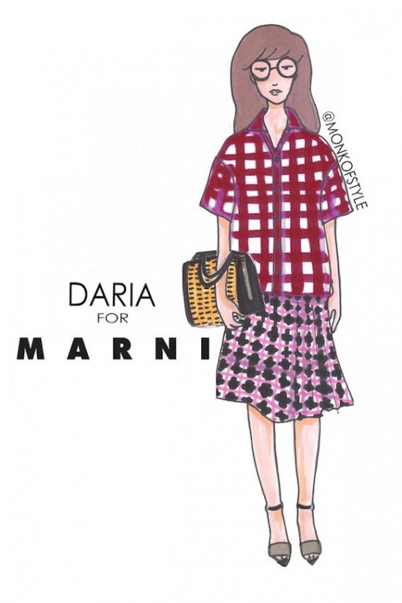 the-style-monk-jerome-le-maan-ilustraciones-illustrations-modaddiction-primavera-verano-2013-spring-summer-2013-moda-fashion-manga-design-diseno-daria-marni