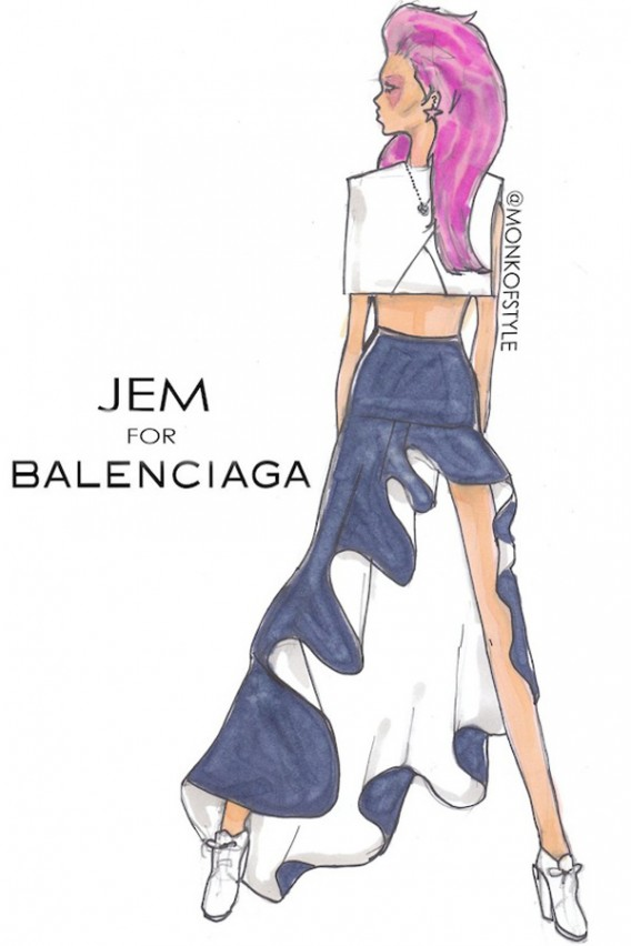 the-style-monk-jerome-le-maan-ilustraciones-illustrations-modaddiction-primavera-verano-2013-spring-summer-2013-moda-fashion-manga-design-diseno-jem-balenciaga