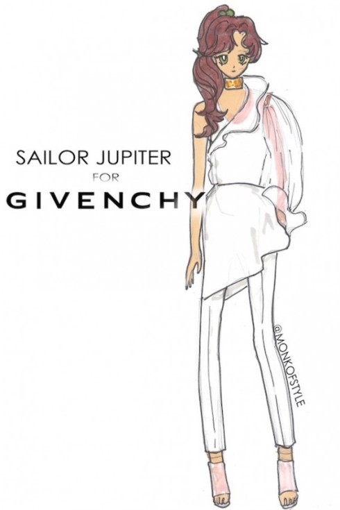 the-style-monk-jerome-le-maan-ilustraciones-illustrations-modaddiction-primavera-verano-2013-spring-summer-2013-moda-fashion-manga-design-diseno-sailor-jupiter-givenchy