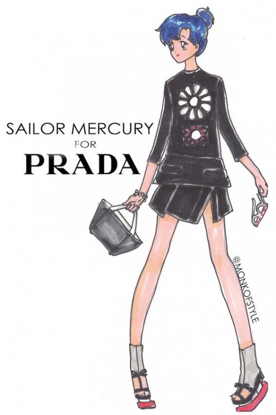 the-style-monk-jerome-le-maan-ilustraciones-illustrations-modaddiction-primavera-verano-2013-spring-summer-2013-moda-fashion-manga-design-diseno-sailor-mercury-prada